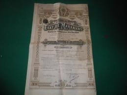 ETAT DE MARANHAO (etats-unis Du Bresil) 1911 - Unclassified