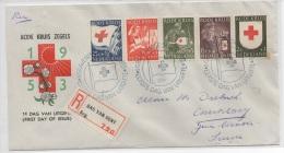 Holland - Nederland (1953) - FDC / SPD -  /  Roten Kreuz - Red Cross - Croix Rouge - Cruz  Roja - Croce Rossa - Red Cross