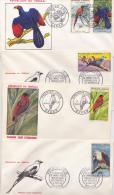 SENEGAL SUPERBE SERIE OISEAUX - Birds