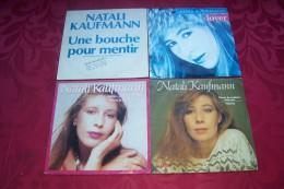 NATALI  KAUFMANN  °  COLLECTION DE 4 / 45 TOURS - Collections Complètes
