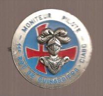 INSIGNE CAVALERIE 11 RGT DE CUIRASSIERS : MONITEUR PILOTE CIABC