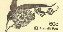 Australie: Très Beau Petiet Carnet De Timbres Fleurs Eucalyptus - Markenheftchen