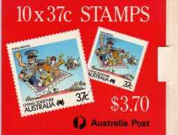Australie: Très Beau Petit Carnet Timbres Humoristique - Markenheftchen