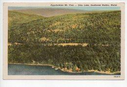 REF 124 : CPA U.S.A. Etats Unis Appalachiam Mt Club Echo Lake Southwest  Harbor Maine - Etats-Unis