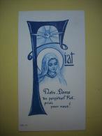 - Image Pieuse  - Profession Perpétuelle - Soeur Marie Mannes - Couvent St Dominique - Ambert - 1957 - - Images Religieuses