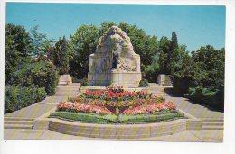 REF 122 : CPSM Etats Unis U.S.A. Salt Lake City The Mormon Battalion Monument - Salt Lake City