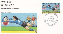 Wallis & Futuna 1994 FIFA World Cup FDC - FDC