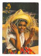 Girl, Invitation Antillaise, Guadeloupe, PU-1977 - Guadeloupe