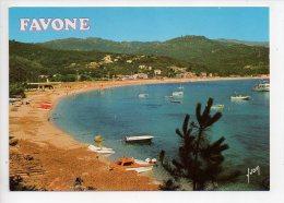 REF 127 : CPSM Allemagne Favone La Corse - Autres Communes