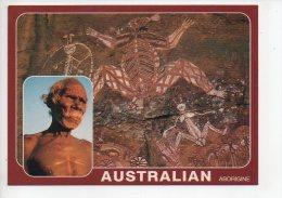 REF 129 : CPM AUSTALIE ABORIGNE - Aborigènes