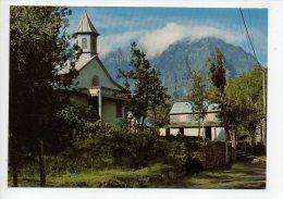 REF 129 : CPSM Ile De La Réunion L'Eglise  De Grand Ilet - Autres
