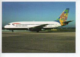 REF 130 : CPM Thème Aviation Avion Aéronotique Bristish Airways B737 -236 G-BGDR - Flugwesen