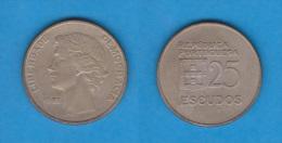 PORTUGAL  (República)  25 Escudos 1.981  Cu Ni  KM#610  MBC/VF    T-DL-10.526 - Portugal