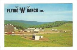 Flying W Ranch Inc., Kellettville, Pennsylvania, 1940-1960s - United States