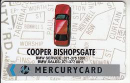 UK - Coopers Bishopsgate/BMW, CN : 19MERA, Tirage %7399, Used - United Kingdom
