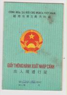 VIETNAM Passeport Frontalier Pour La Chine1998 Border Passport For China - Historische Documenten