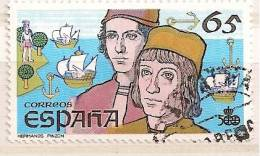 SPAIN Edifil # 2924 (o) V Centenario Descubrimiento - 1931-Hoy: 2ª República - ... Juan Carlos I
