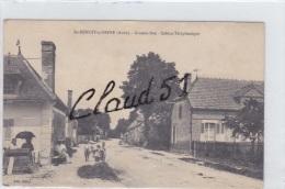 SAINT BENOIT Sur SEINE (10) Grande Rue ,Cabine Téléphonique - Ohne Zuordnung