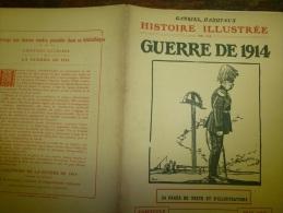 1914 HISTOIRE ILLUSTREE : Saravejo ; Budapest ; Spahis Algériens (photo Panoramique) - Livres, BD, Revues