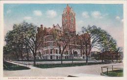 Kansas Topeka Shawnee County Court House