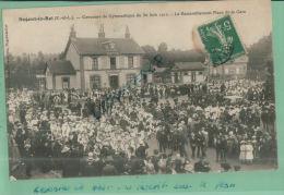 CPA  28, NOGENT-LE-ROI,  Concours De Gymnastique Du Juin 1912, Rassemblement Place De La Gare,  Juil  2013  361 - Sonstige Gemeinden