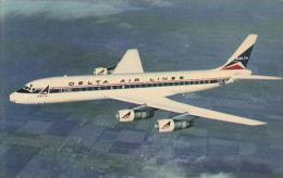 Delta Airlines Douglas DC-8 Fanjet - 1946-....: Moderne