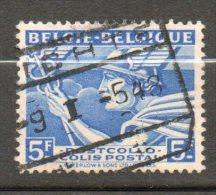 BELGIQUE Colis Postaux  5,00f Bleu 1945 N°289a - Chemins De Fer