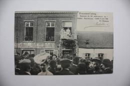 Ecaussinnes   Souvenir Du 4me Anniversaire Du Goûter Matrimonial Lundi 4 Juin 1906 Un Discours - Ecaussinnes