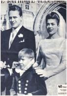 Mariage Princier A Dreux DREUX   1957 Louveciennes Chapelle Royale Chateau - 1950 - Heute