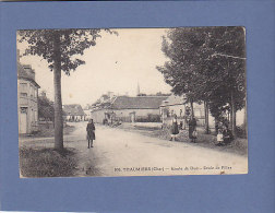 CPA - 18  -  THAUMIERS - 108. Route De Dun - Ecole De Filles - Autres Communes