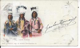 INDIEN - APACHE WARRIORS - 5242 - Indiens De L'Amerique Du Nord