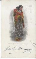"""INDIEN - """"BRIGHT EYES"""" SQUAW AND PAPOOSE - Indiens De L'Amerique Du Nord"""