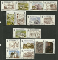 "Honduras    "" Buildings & Coat Of Arms ""    Set  (8 Pair)   SC# C646-61a  MNH** - Honduras"