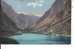 NORVEGE - GUDVANGEN - SOGN - Norvège