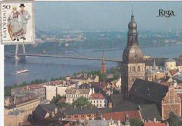 Latvia Panorama Of Old Riga - Latvia
