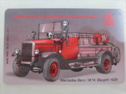 Germany Chip Phonecard,O538 12.93   Mecrcedes Benz/m14,mint - Firemen