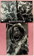 2 Kleine Poster  Bob Marley ,  Rückseiten Jane Fonda / Desiree Nosbusch  -  Von Pop Rocky + Bravo Ca. 1982 - Plakate & Poster