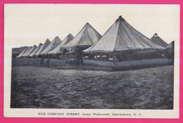 081 - ETATS-UNIS - Our Company Street, Camp Wadsworth , Spartanburg, South Carolina, - Non Classés