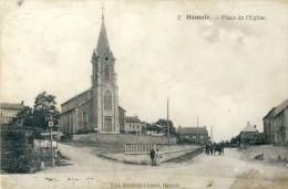 Hamoir - Place De L´Eglise -1921 ( Voir Verso ) - Hamoir