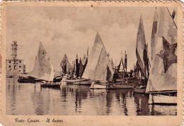 RAVENNA-PORTO CORSINI-IL BACINO-VIAGGIATA IL 16-7-1948- - Ravenna