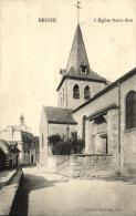 58 - Decize - L´ Eglise Saint Aré - 52185 - Decize