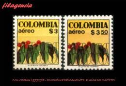 AMERICA. COLOMBIA MINT. 1977-78 EMISIÓN PERMANENTE. RAMA DE CAFETO - Kolumbien
