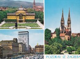 Croacia--Pozdrav Iz Zagreba--Katedrala - Croacia