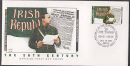 Ireland´s Easter Rebellion, Patrick Pearse Proclaims Irish Republic, FDC Marshall Islands - Islas Marshall