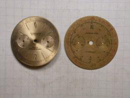 2 Cadrans De Chrono - Bijoux & Horlogerie