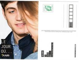 """CP Carte Postale Entier Postal TSC Le Jour Où ... """"JULES"""" Lettre Verte Marianne De Beaujard TB Rare! - Entiers Postaux"""
