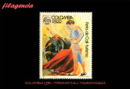 AMERICA. COLOMBIA MINT. 1980 TURISMO. FERIA TAURINA DE CALI - Colombia