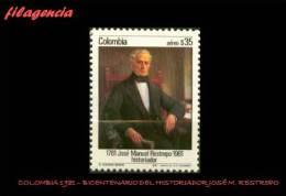 AMERICA. COLOMBIA MINT. 1981 BICENTENARIO DEL HISTORIADOR JOSÉ M. RESTREPO - Colombia