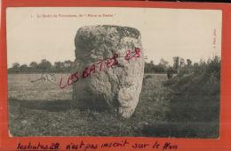 """CPA  50,  BOUILLON, Le Menhir De Vaumoisson, Dit """"Pierre Du Diable"""",     Juil  2013  435 - Dolmen & Menhirs"""
