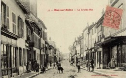 10 BAR-SUR-SEINE - La Grande Rue - Très Animée, Commerces - Bar-sur-Seine